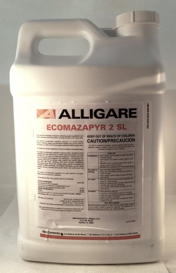 Ecomazapyr 2SL Herbicide - 30 Gallons (Ground Sterilizer - Replaces Arsenal, Imazapyr 2SL, and Polaris) - Click Image to Close