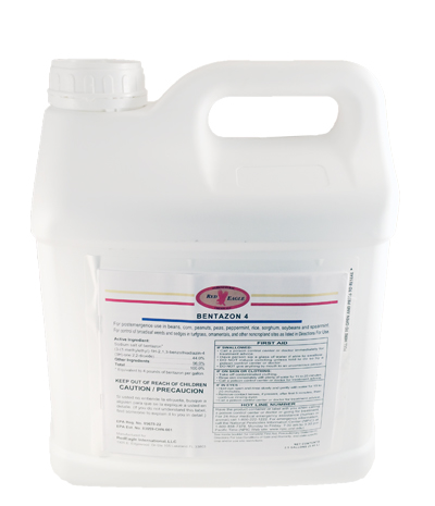 Bentazon 4 Herbicide - 2.5 Gallons (Same AI as Basagran) - Click Image to Close