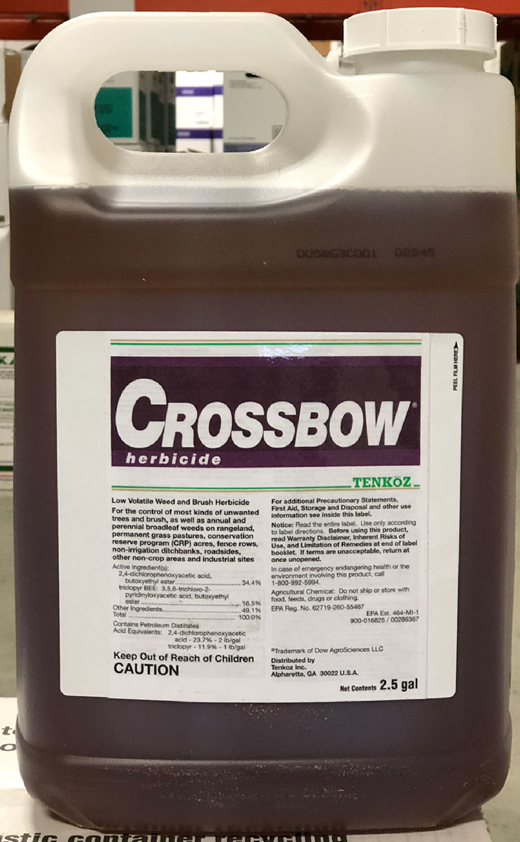 Crossbow Herbicide Brush Killer - 2 5 Gallon