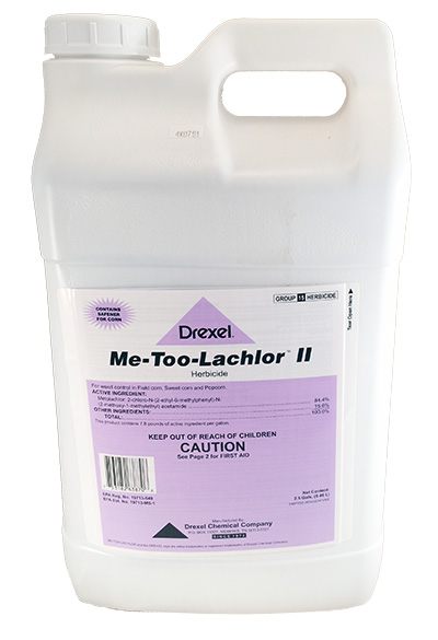 Me-Too-Lachlor II Herbicide - 2 5 Gallons (Replaces Dual II Magnum)