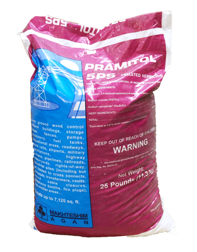 Pramitol 5PS Pellets - Ground sterilizer (40x25 lb) 1000 lb Pallet Free shipping! - Click Image to Close