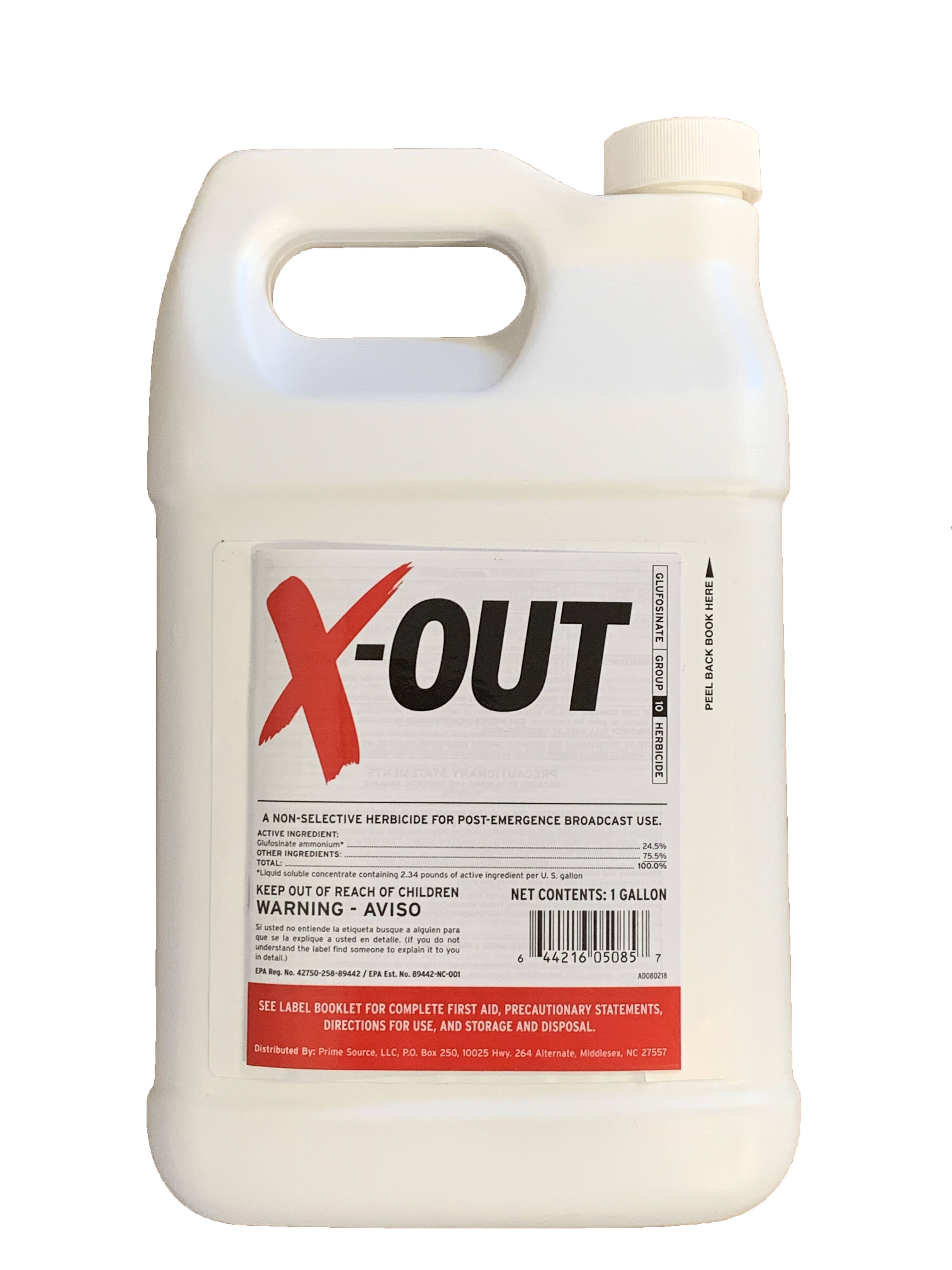 X-Out Weedkiller - 1 Gallon - Glyphosate free Roundup Replacement