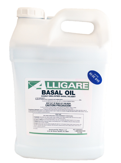 Basal Oil Carrier with Dye - 2.5 Gallons - Click Image to Close
